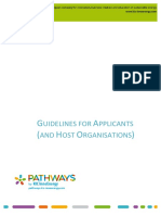 Guidelines for Applicants and Host Organisations v2.3 (1)