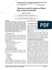 A Survey on Detection and Prevention of Black Hole Attack in MANET