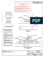 Standard Drawing 4083B Cattle Underpass Road Cross Section and Guard Fence Treatment