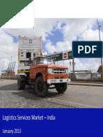 Logisticsservicesmarketinindia2013 Sample 130128070452 Phpapp02