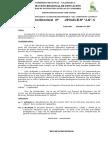 Resolución de Aprobación Calendarización 2014