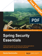 Spring Security Essentials - Sample Chapter