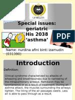 Case Presentation Geriatric