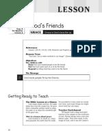 1st Quarter 2016 Lesson 2 Kindergarten Teacher's Guide