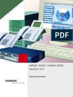 HiPath 3000 5000 V4.0 Feature Description