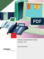 HiPath 3000 5000 V5.0 Feature Description