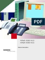 HiPath 3000 5000 V6.0 Feature Description