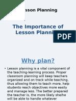 2. Lesson Planning