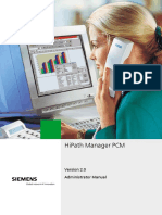 HiPath Manager PCM V2.0 Administrator Manual