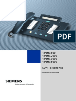 ISDN Telephone User Guide