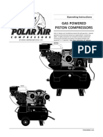 Gas Powered Piston Compressors - Operating Instructions