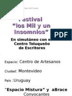 """""""Los mil y un insomnios"""" Uruguay - Mexico"""