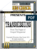 Action Check Transmissions