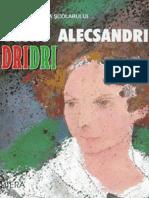 Alecsandri Vasile - Dridri (Aprecieri)
