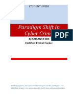 Paradigm Shift in Cyber Crime by Srikanta Sen