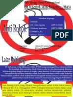 Presentasi Anti Rokok