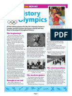 History of the Olympics Special Report and Quiz