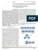 Epileptic Seizure Detection Using an Algorithm Based on Fractal Dimension