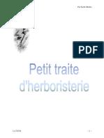 3221 Petit Traite en Herboristerie