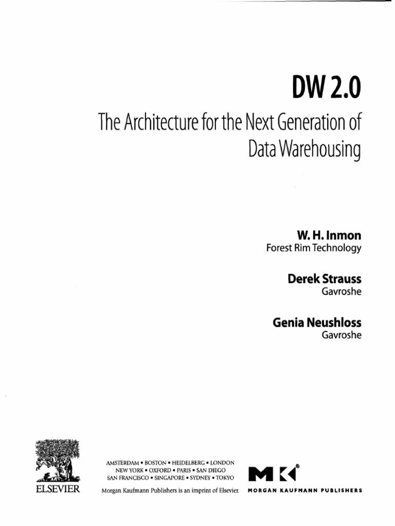 Dw 2 0 Book Data Warehouse Metadata
