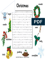 Christmas Wordsearch 2