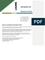 Memoria Aptaeex 2015
