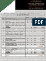 arcritectural cost estimation