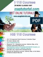 HIS 115 Apprentice tutors/snaptutorial