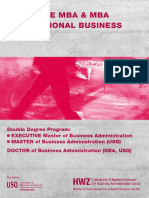 Broschuere EMBA MBA Int Business e HWZ 2015-03-13