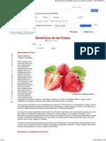 Beneficios de La Fresa - Mercola