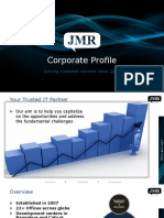 JMR Infotech Corporate Profile