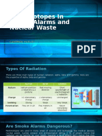 Radioisotopes in Smoke Alarms