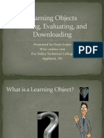Evaluating & Downloading Learning Objects (Dean Lodes)