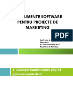 Instrumente Software Pentru Proiecte de Marketing