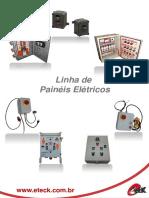 Catálogo Painéis Elétricos Geral