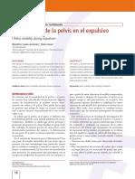 La Movilidad de La Pelvis en El Expulsivo