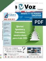 La Voz de Torrelodones y Hoyo de Manzanares. Nº 149- Enero 2016