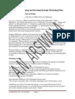 Marketing Management Chapter 4