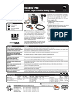 Spec Sheet - Handler 210