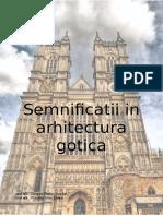 Semnificatii in Arhitectura Gotica1