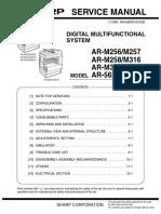 ar 5631 sm rh scribd com Sharp AR- M355N sharp ar 5623 n service manual pdf