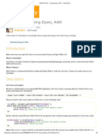 Using Jquery Ajax Code Project