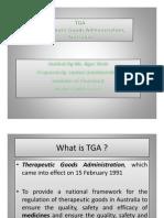 tga Guideline