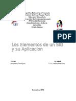 Elementos de Un Sistema de Informacion Geograficoinforme