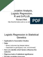 Logistic Regression Using R