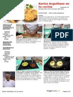 Fasciculo 18-Las Recetas Del 4 Al 8 de Enero Del 2016