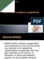Malformații cardiace congenitale