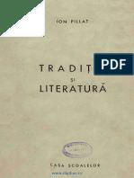 Traditie si literatura