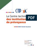 Dossier de présentation du CTIP - Avril 2016