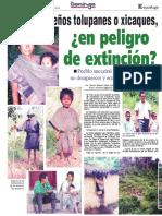 10 11 13 Los Hondureos Tolupanes o Xicaques en Peligro de Extincion